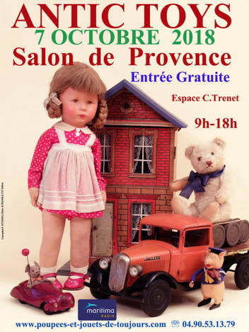 Salon ANTIC TOYS - 7 OCTOBRE 2018